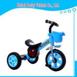 Езда малышей трицикла малышей младенца Китая на рамке игрушки стальной