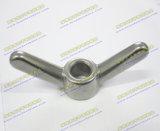 Ecrou-papillon Ss304 ou Ss316 d'acier inoxydable
