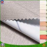 Matéria têxtil Home tela impermeável tecida da cortina do escurecimento do revestimento do franco do poliéster da tela da cortina para a cortina de indicador