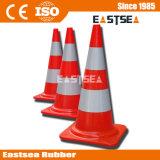 Cono di plastica di sicurezza della costruzione di strade di traffico di formato differente