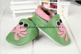 コアラパターン: 革赤ん坊靴