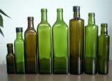 500ml 뚜껑을%s 가진 진한 녹색 Marasca/Dorica 올리브 기름 병