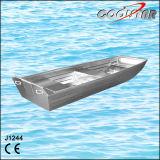 barco de aluminio barato del 12FT pequeño Jon para la pesca y Entertaiment (1244J)
