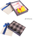 Neues Design Fancy Paper Gift Box mit Fabric Bowknot