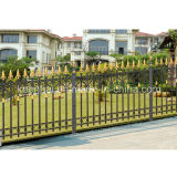 Power Coated Aluminium Cast Natural Garden Fence for Villa Security