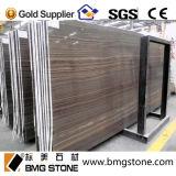 建築材料のObamaの木製の穀物のブラウンの大理石