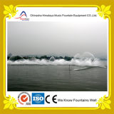 Fontana interattiva di musica dell'acqua di Dancing per il lago