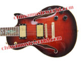 Guitare électrique Afanti Music Lp Style Double F Holes (CST-158)
