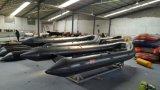 18.8FTのアルミニウム外皮5.6mの膨脹可能なボート、肋骨のボート、漁船、PVCまたはHypalonのスポーツのボート