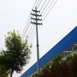 Передача силы 220 Kv Monopole с двойной цепью