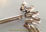 Gli scrematori flessibili inossidabili ortopedici possono connettere con i trivelli di Cannulated o i trivelli del cavo cotiloideo per il rimontaggio Hip
