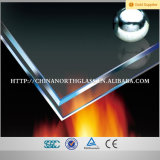 Janela e porta 5mm-19mm Low Iron Fire Rated Glass