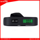50kg*10g 소형 균형 디지털 가늠자 전자 수화물 가늠자 여행 LCD 디스플레이 110lb*0.02lb를 위한 휴대용 무게 가중 가늠자