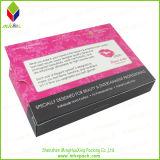 Papel Cartón promocional plegable caja de la pestaña