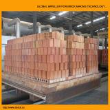 가득 차있는 자동적인 찰흙 벽돌 만들기 기계 (EV45B)
