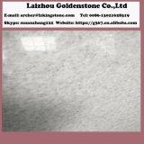 Кристаллический белый мрамор для больших слябов или отрезал по заданному размеру плитки