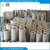 Treillis métallique matériel d'acier inoxydable de la qualité 316L avec le PVC enduit
