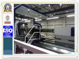 Schwere horizontale CNC-Drehbank für das Drehen des 4500 Durchmesser-Bergbau-Zerkleinerungsmaschine-Zylinders (CK61450)
