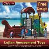 Развлекая спортивная площадка Toys Kids Outdoor Plastic для парка атракционов с CE Certificate