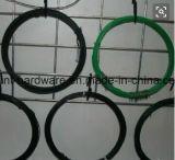 Alambre cubierto PVC barato del hierro del precio que enrolla de la fábrica