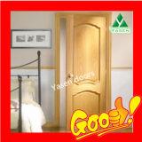Верхняя дверь древесины двери Китая домашняя