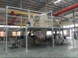 粉のコーティングのための200-250kg/Hドラムクーラーの冷却機械