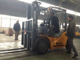 Chariot élévateur 3000kg de levage de l'Arabie Saoudite 4.5m