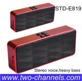 Voice estéreo, Heavy Bass Mini Bluetooth Speaker con el Mic y Línea-en Function (RoHS/CE/FCC)