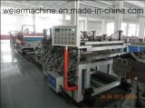 Ligne de production de modèle de construction WPC