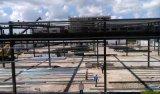 Edificio industrial, comercial y residencial galvanizado prefabricado de la estructura de acero
