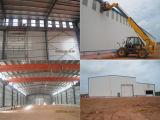 Полуфабрикат здание мастерской раскрытия стальной рамки
