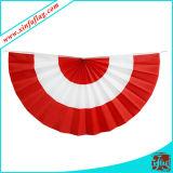 ファンShapped旗布、ファンShapped旗、装飾的な旗