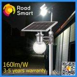 2017 integró la lámpara impermeable de la energía solar LED para la calle del jardín