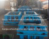 Brouette de roue faisant des machines mouler Wb6400