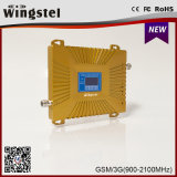 Goud plus GSM 2g 3G 4G 900/2100MHz de Mobiele Spanningsverhoger van het Signaal
