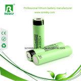 cella di batteria potente 18650 3200mAh dello Li-ione di 3.6V Akku 10A NCR18650bd