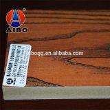 Обложка пола PVC деревянного зерна пластичная