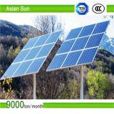 Установка фотовольтайческой панели солнечных батарей системы кронштейнов солнечная