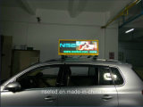 Oberseite LED-Bildschirmanzeige des Taxi-P5 für das Bekanntmachen mit 3G/4G WiFi Steuerung