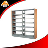 Scaffalatura d'acciaio standard del libro della libreria del ferro del metallo