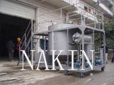Pianta di riciclaggio nera residua dell'olio per motori
