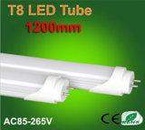 Aluminium+PC 높은 루멘 1.2m T8 LED 관 점화