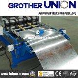 Utilizado galvanizado cubriendo el rodillo del panel de la azotea del metal de hoja que forma la máquina
