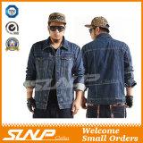 Новые одежды куртки мытья обезьяны джинсовой ткани человека типа