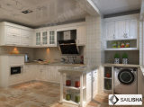 De Turkse Moderne Houten Keukenkast van het Eiland van het Meubilair van het Hotel van het Huis