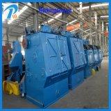 Equipo seguido alta calidad modificado para requisitos particulares de la limpieza del chorreo con granalla