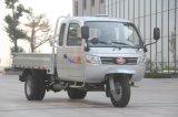 Caminhão motorizado Diesel de três rodas da carga chinesa Closed com cabine