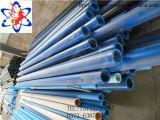 Pipe bleue de petite taille de la couleur UHMWPE de Tfp utilisée pour l'usinage