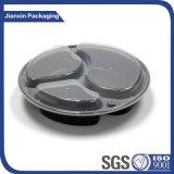 Acondicionamiento de los alimentos plástico reciclable de la cena del almuerzo del vajilla
