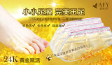 Dead Foot Peeling Mask Afy 24k Gold Revitalizing Exfoliazting Softening Foot Care Foot Mask löschen